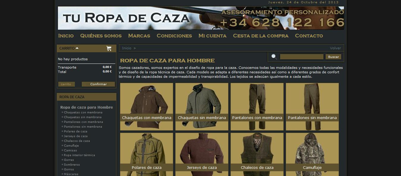 pagina-listado-categorias-tienda-online-de-ropa-de-caza-turopadecaza.com