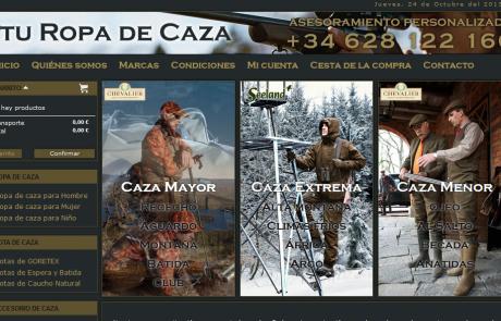 tienda online de ropa de caza turopadecaza.com
