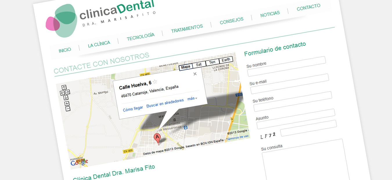 captura-pantalla-contacto-clinica-dental-marisa-fito
